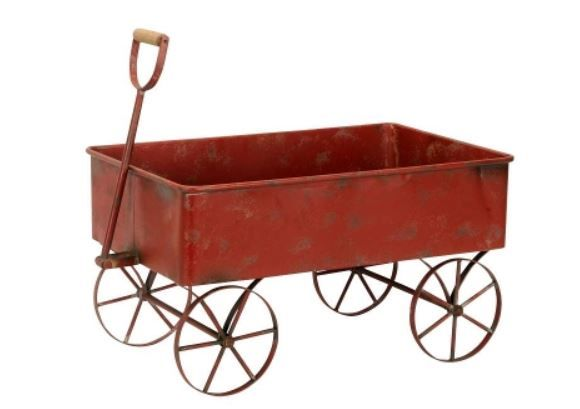 1x verfügbar - großer Vintage-Bollerwagen aus Metall