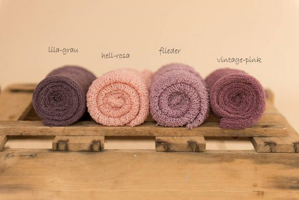 SuperStretch-Wrap - VINTAGE-ROSE