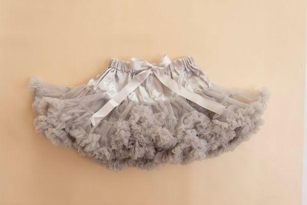 Petticoat in silber-grau