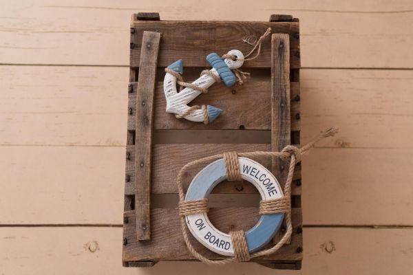 SALE! Anker oder Rettungsring - maritime Deko