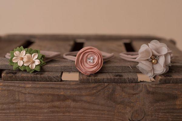 Haarband mit versch. Blüten