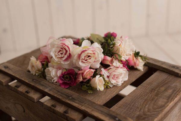 Blumenkränze im Set für Mutter und Tochter