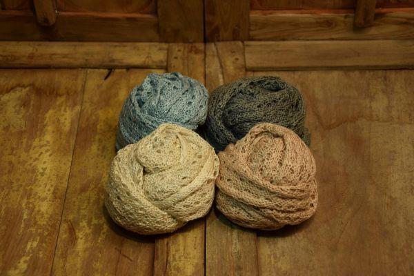 Strick-Wraps in 4 Farben zur Wahl